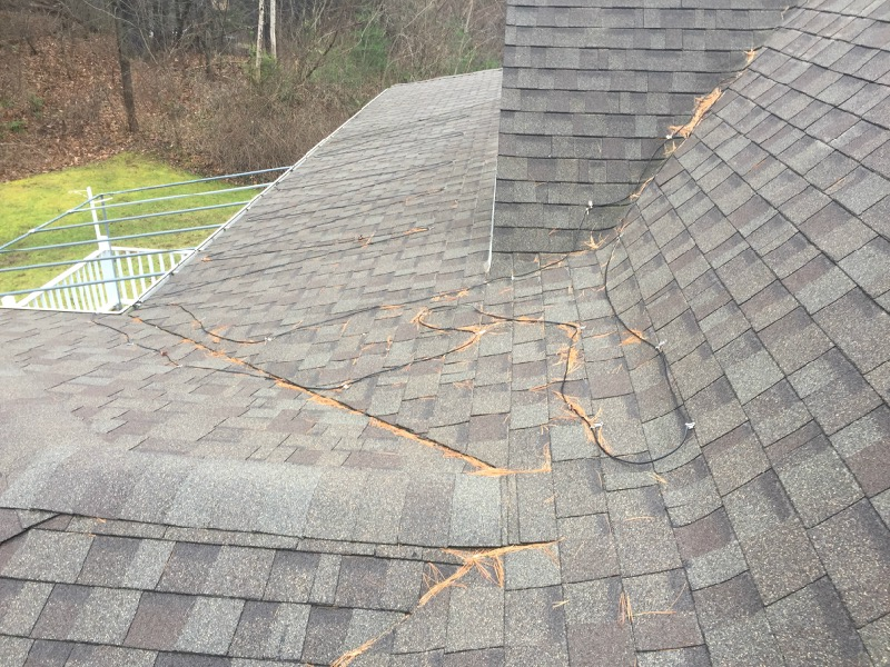 Roof Prone to ice damming